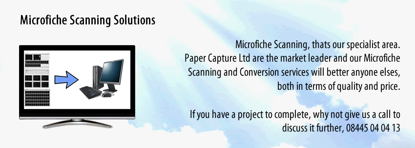 Paper Scanning Services